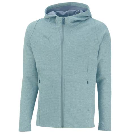Puma Herren Sweatjacke Final Casuals Hooded Jacket 655294-37 XL Medium Gray Heather | XL