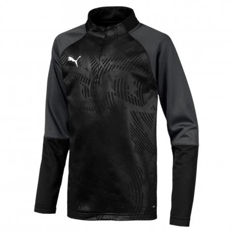 Puma Kinder Pullover Cup Training 1/4 Zip Core Jr 656019