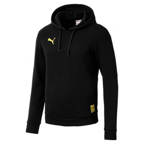 Puma Herren Borussia Dortmund Kapuzenpullover BVB Premium Stencil Hoody 754110