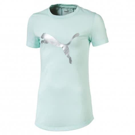 Puma Mädchen T-Shirt Active Sports Tee G 854192 Fair Aqua Größe 128,152,164,176