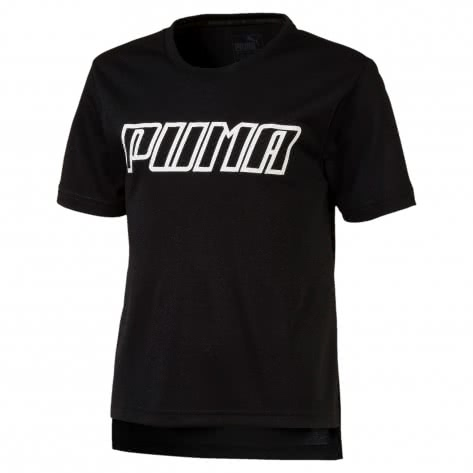 Puma Mädchen T-Shirt A.C.E. Tee G 854337 Puma Black Größe 128,140,152,164,176