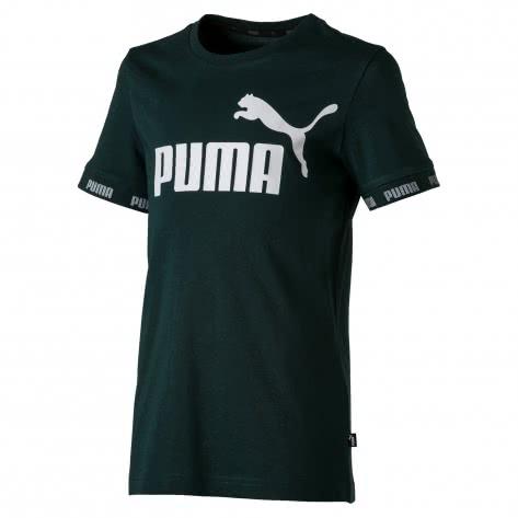 Puma Jungen T-Shirt Amplified Tee B 854447 Ponderosa Pine Größe 128,140,152,164,176