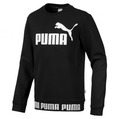 Puma Jungen Pullover Amplified Crew B 854448 Cotton Black Größe 128,140,152,164,176