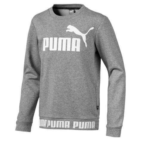 Puma Jungen Pullover Amplified Crew B 854448 Medium Gray Heather Größe 128,140,152,176