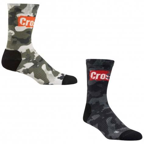 Reebok CrossFit Unisex Socken Printed Crew Socks