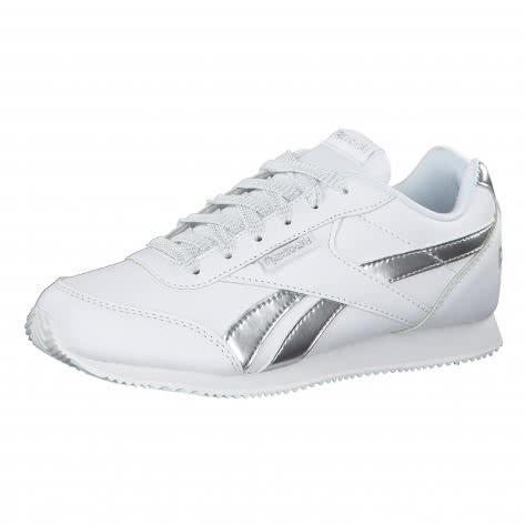 Reebok Mädchen Sneaker Royal Classic Jogger 2 White Silver Größe 36,37,38