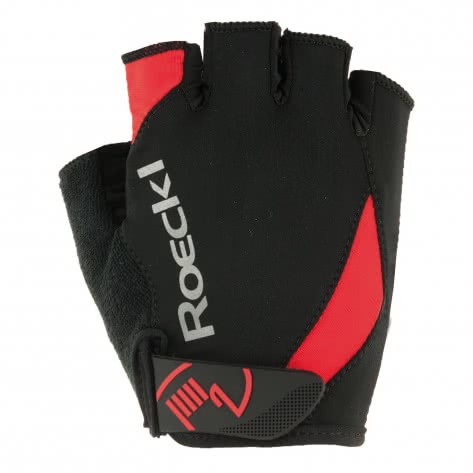 Roeckl Unisex Radhandschuhe Baku 3101-360-004 6 schwarz/rot | 6