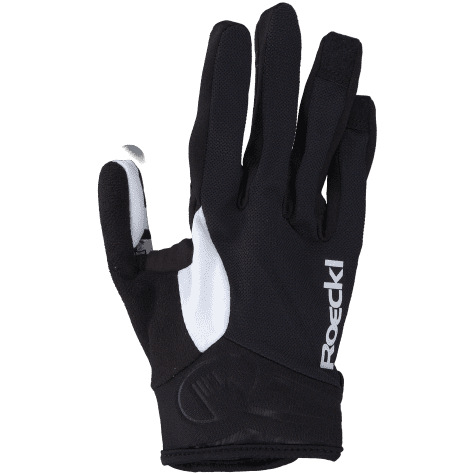 Roeckl Unisex Radhandschuhe Mileo 3104-839-009 6 schwarz/weiß | 6