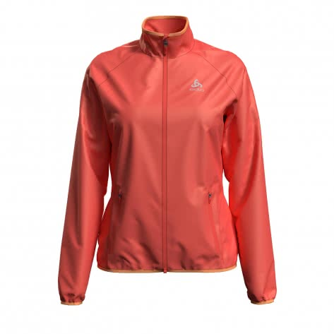 Odlo Damen Laufjacke Element Light Jacket 313071-32000 XS hot coral | XS