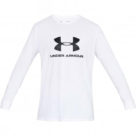 Under Armour Herren Langarm Shirt Sportstyle Logo 1329283