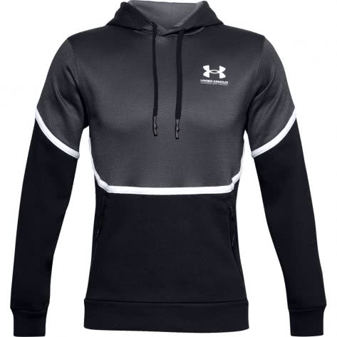 Under Armour Herren Hoodie Rival Fleece AMP HD 1357090-001 S Black | S