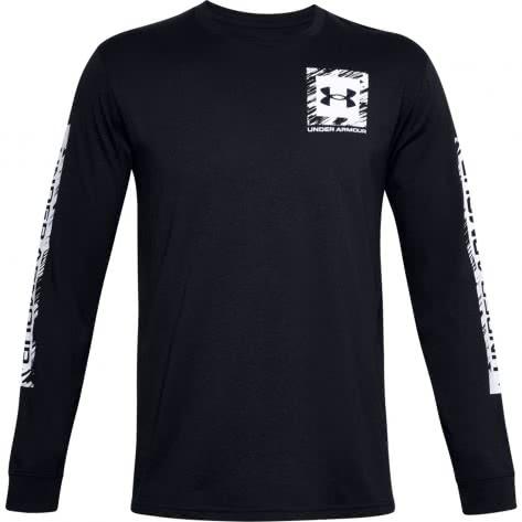 Under Armour Herren Langarm Shirt BOX LOGO SKETCH LS 1357177