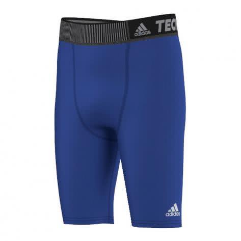 adidas Kinder Short TechFit Base bold blue Größe 128