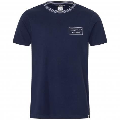 Scotch & Soda Herren T-Shirt Baluw Clean Graphic 151272