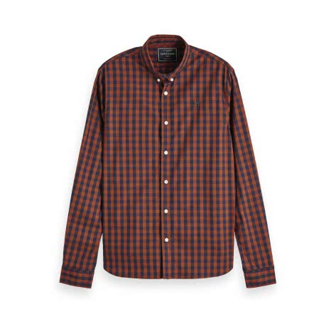 Scotch & Soda Herren Hemd Classic BB check shirt 152152