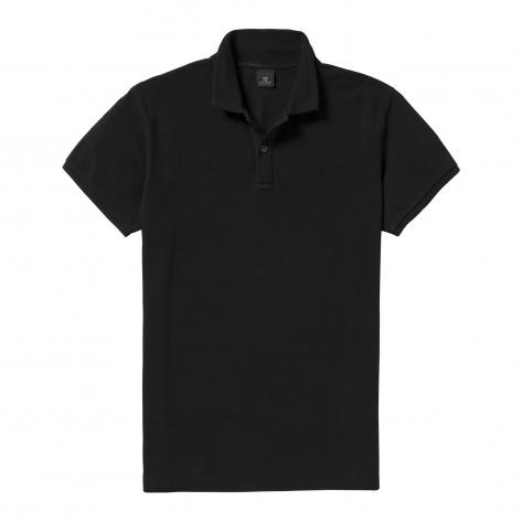 Scotch & Soda Herren Polohemd Classic garment dyed pique 99019955099-90 S black | S