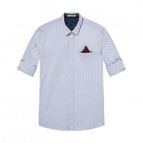 Scotch & Soda Herren Langarm Hemd Classic Shirt 142479