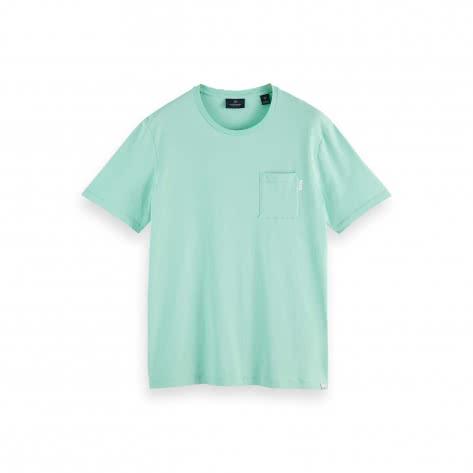 Scotch & Soda Herren T-Shirt Fabric Dyed Pocket Tee 156807