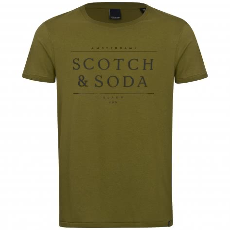 Scotch & Soda Herren Logo T-Shirt 150534