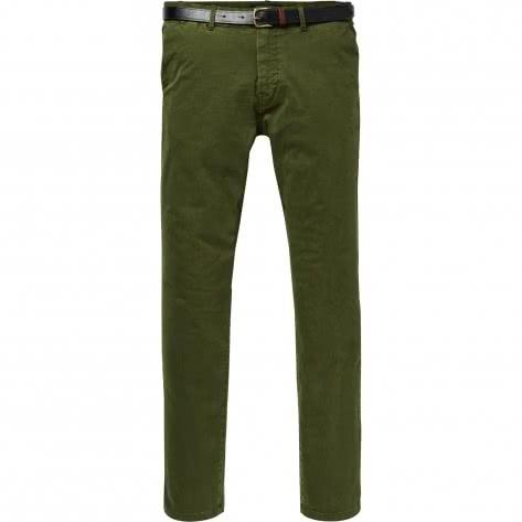 Scotch & Soda Herren Hose Stuart - Classic Garment-Dyed Chino 145298-0548 31/32 Pine | 31/32