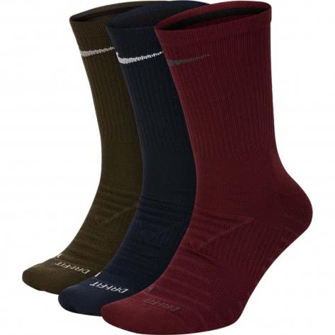 Nike Unisex Sportsocken Pro Everyday Max Cushioned Crew (3 Pair) SK0121-901 34-38 Multi-Color 1 | 34-38
