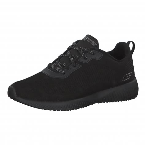 Skechers Damen Sneaker Bobs Sport Squad - Team BOBS 32505 Black Größe: 36,37,38,39,40,41