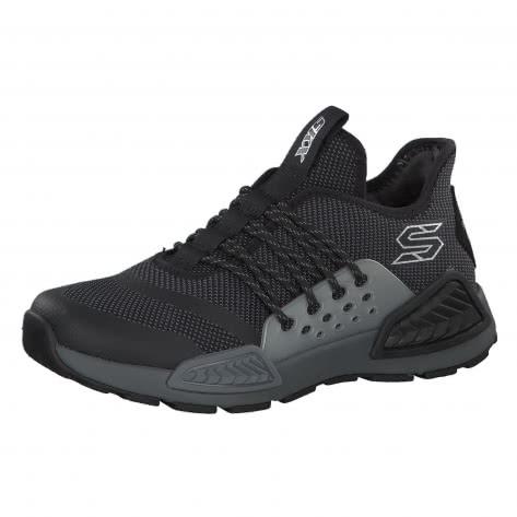 Skechers Jungen Sneaker Kinectors Megahertz 97673L Black Charcoal Größe 33,34,35,36,37,38,39,39.5