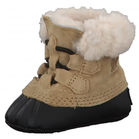 Sorel Baby Winterstiefel Caribootie 1751171 Curry,Black Größe 17,18