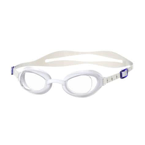Speedo Schwimmbrille Aquapure Female White/Clear Größe: One size