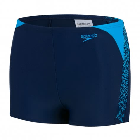 Speedo Jungen Badehose Boom Aquashorts 8 10848 NAVY WINDSOR BLUE Größe 152,164