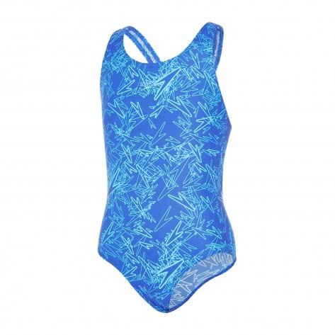 Speedo Mädchen Badeanzug Boom Splashback 8 10843 AMPARO BLUE TURQUOISE Größe 128