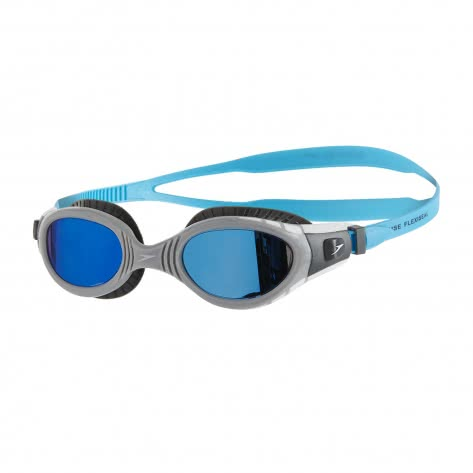 Speedo Schwimmbrille Futura Biofuse Flexiseal Mirror 8-11316-C110 USA CHARCOAL/GREY/BLUE MIRROR | One size