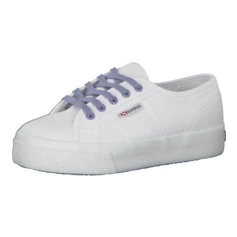 Superga Damen Sneaker Cotu Contrast S1114BW