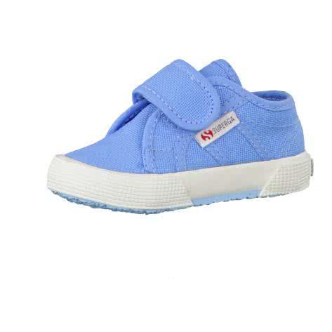Superga Kinder Leinenschuhe 2750 Azure Blue Größe 20