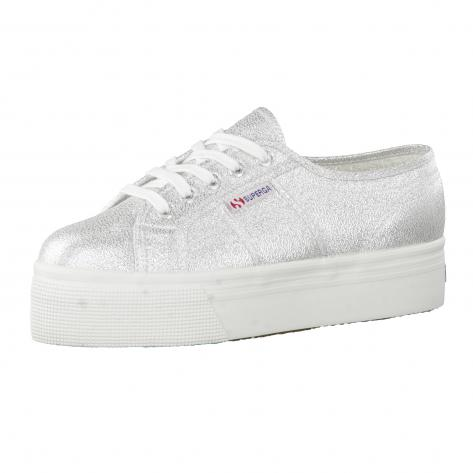 Superga Damen Sneaker 2790 LAME S009TC0-031 42 Grey Silver   42