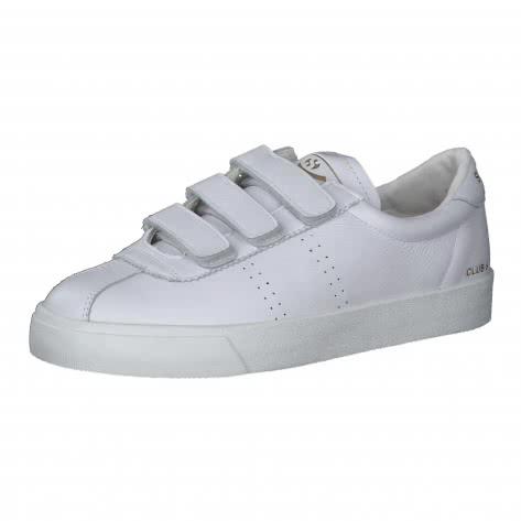 Superga Unisex Sneaker 2870 Club S Comfort Leather Strap S51225W