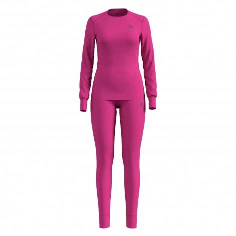 Odlo Damen Sportunterwäsche Warm Set 190651-31600 XL beetroot purple | XL