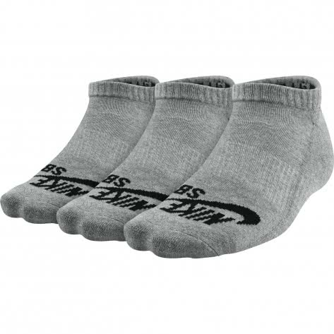 nike sb socken no show skateboarding sock 3 pair sx4921. Black Bedroom Furniture Sets. Home Design Ideas