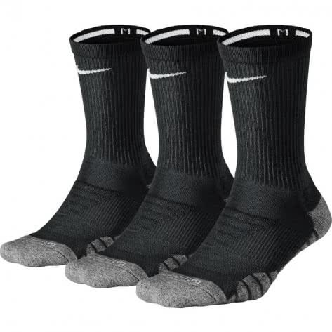Nike Damen Sportsocken Everyday Max Cushion Crew (3 Pair) SX5566-010 34-38 Black/Anthracite/White | 34-38