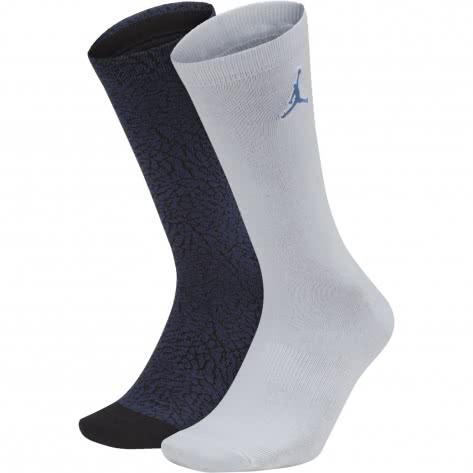 Jordan Herren Socken Elephant Crew Socks (2 Pair) SX5859