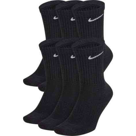 Nike Unisex Sportsocken Everyday Cushion Crew 6PR SX7666