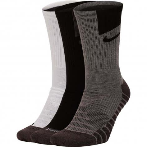 Nike Unisex Sportsocken Tech Everyday Max Cushioned Crew (3 Pair) SX7839-911 34-38 Multi-Color 2 | 34-38