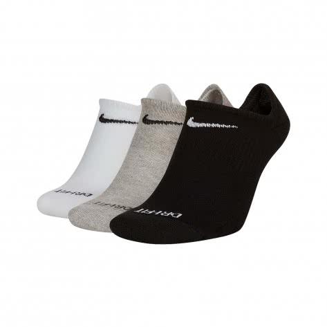 Nike Unisex Socken 3er Pack Everyday Plus Cushioned Training No Show SX7840