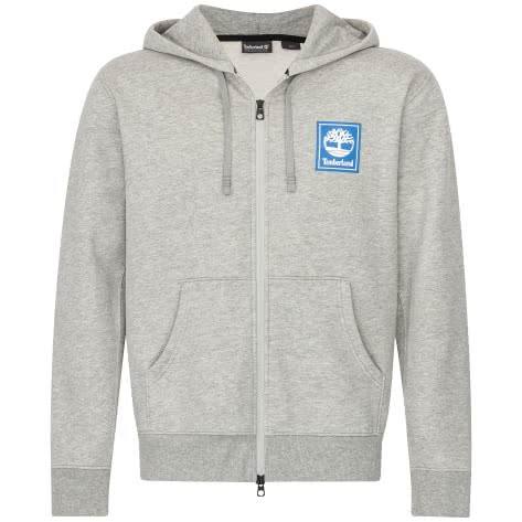 Timberand Herren Pullover YCC FZ Hoody stack logo 0A109J-052 XL Medium Grey Heather | XL