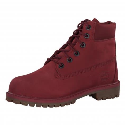 Timberland Kinder Boot 6-Inch Premium Boot Junior A1VCK 39.5 Burgundy Nubuck | 39.5