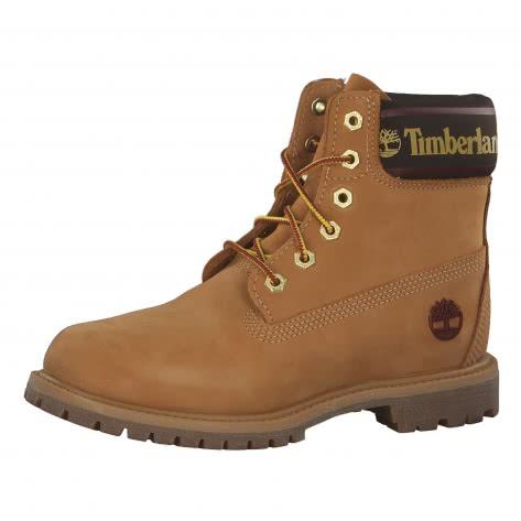 Timberland Damen Boots 6 In Premium Logo Collar
