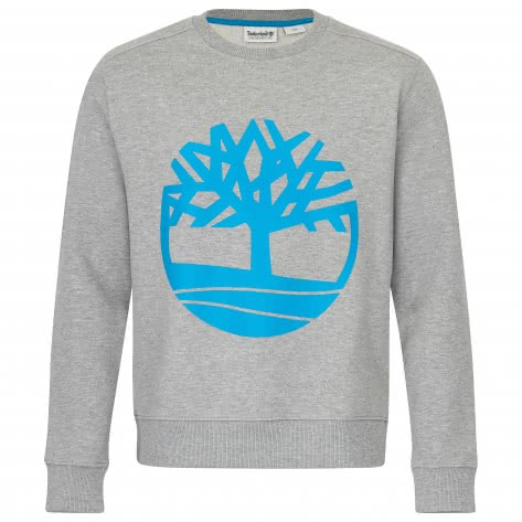 Timberland Herren Pullover Core Logo Crew 0A1ZKC-052 S MED GRY HEATHER | S