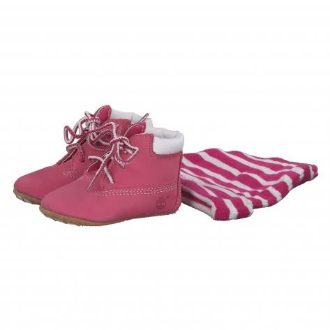 Timberland Baby Schuhset mit Mütze Crib 09680 15 Pink | 15