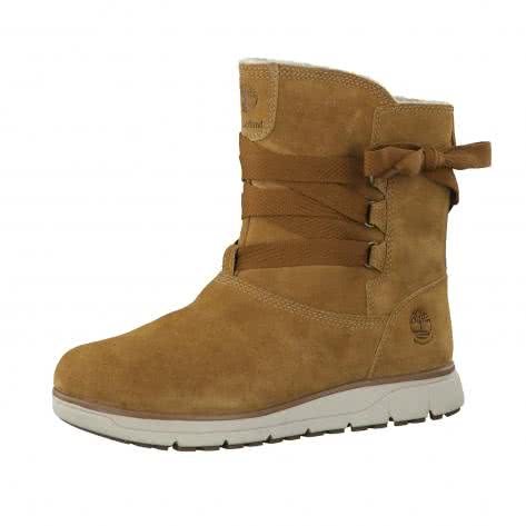 Timberland Damen Winterstiefel Leighland Leather Winter Boot