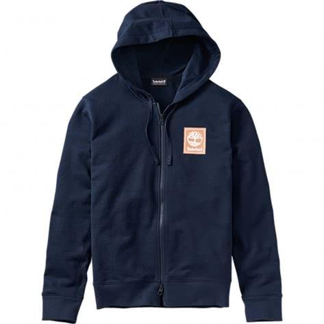Timberand Herren Pullover YCC FZ Hoody stack logo 0A109J-433 XL Dark Sapphire   XL